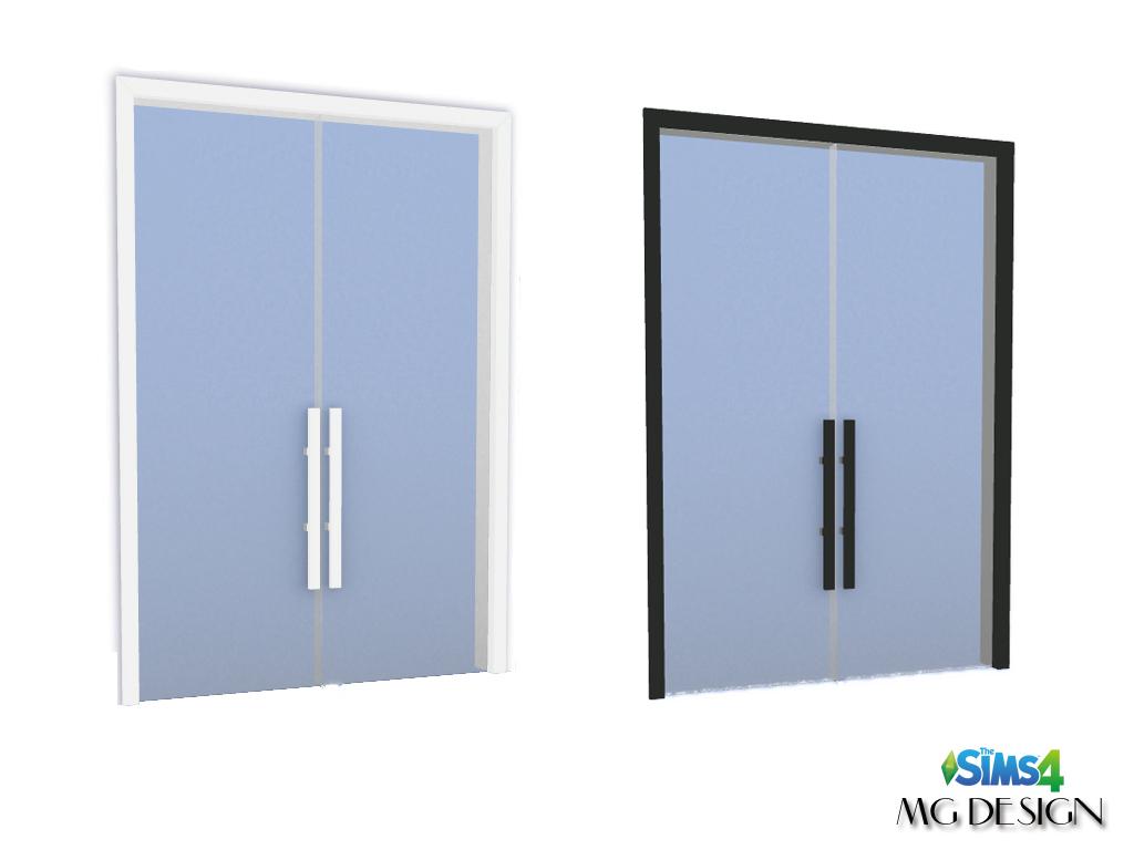 New Glass Door Sims 4 Studio