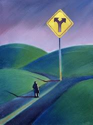 En muchas ocaciones, Dios permite que escojamos el camino por el que hemos de transitar en la vida.