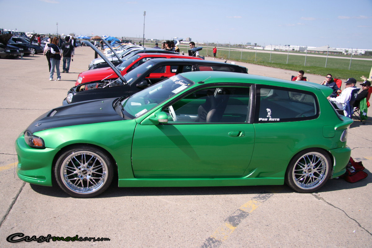 Modified Civic Hatchback - Importfest 2008 | Custmod Cars