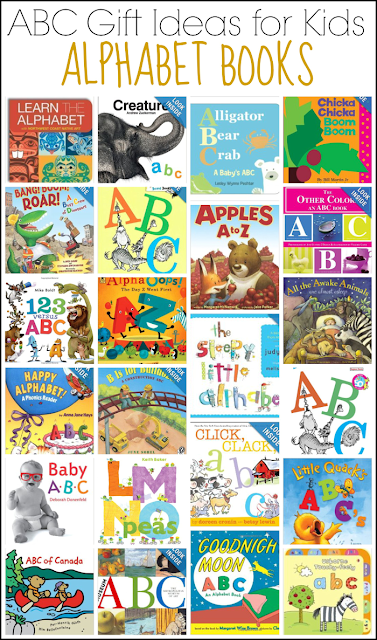 ABC Gift Ideas for Kids: Alphabet Books from And Next Comes L