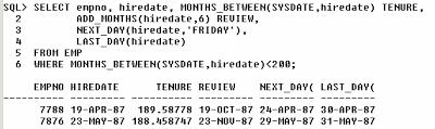 Cara Setting dan Memanipulasi DATE pada Oracle
