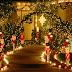 Christmas Lighting House Interior