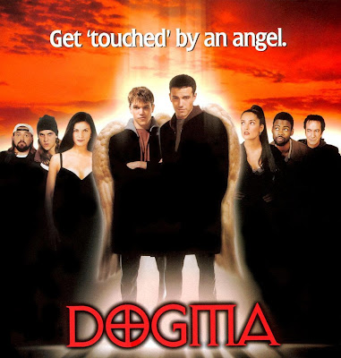 Poster Of Hollywood Film Dogma (1999) In 300MB Compressed Size PC Movie Free Download At World4ufree.Org