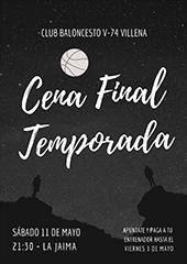 CENA FIN TEMPORADA