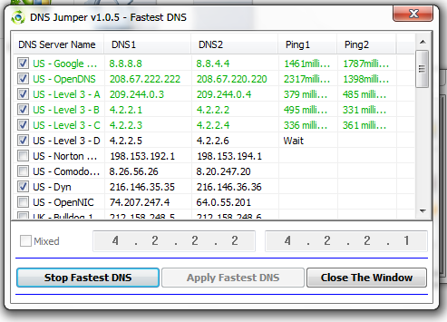 DNS Fast