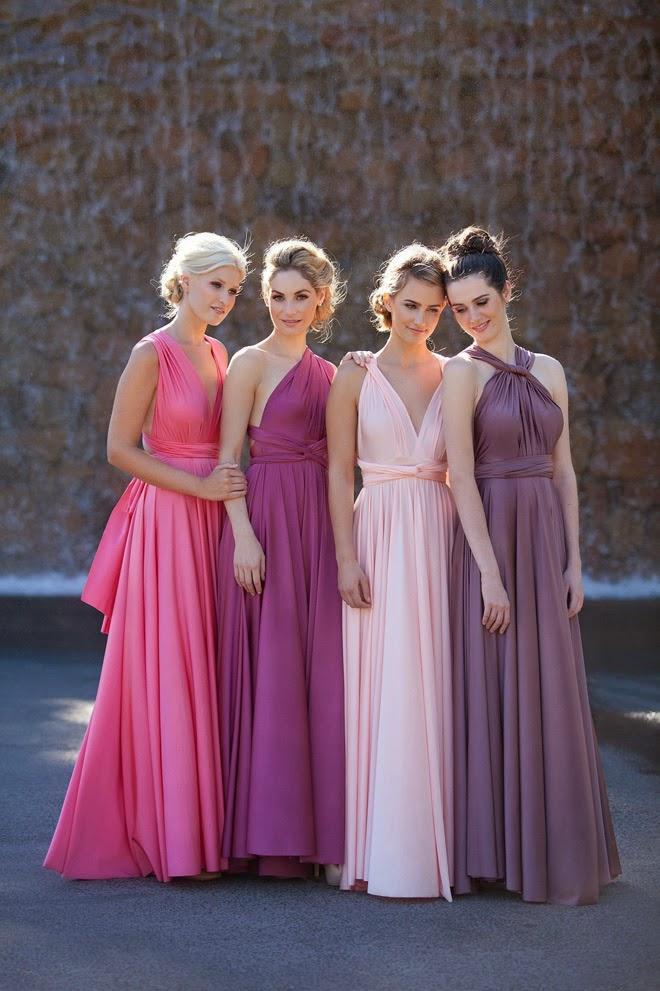 Convertible Bridesmaid Dresses Belle The Magazine
