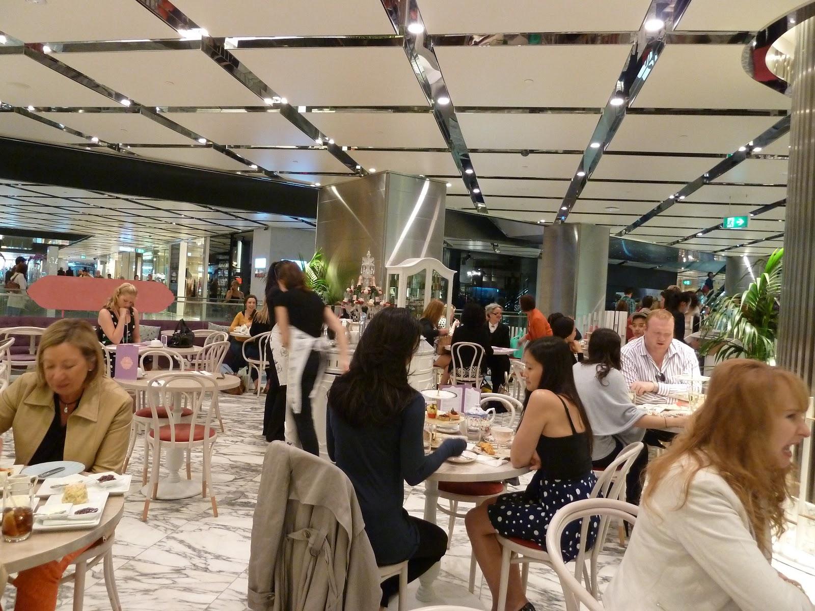 A foodie 39 s joy the victoria room tea salon for Sydney salon