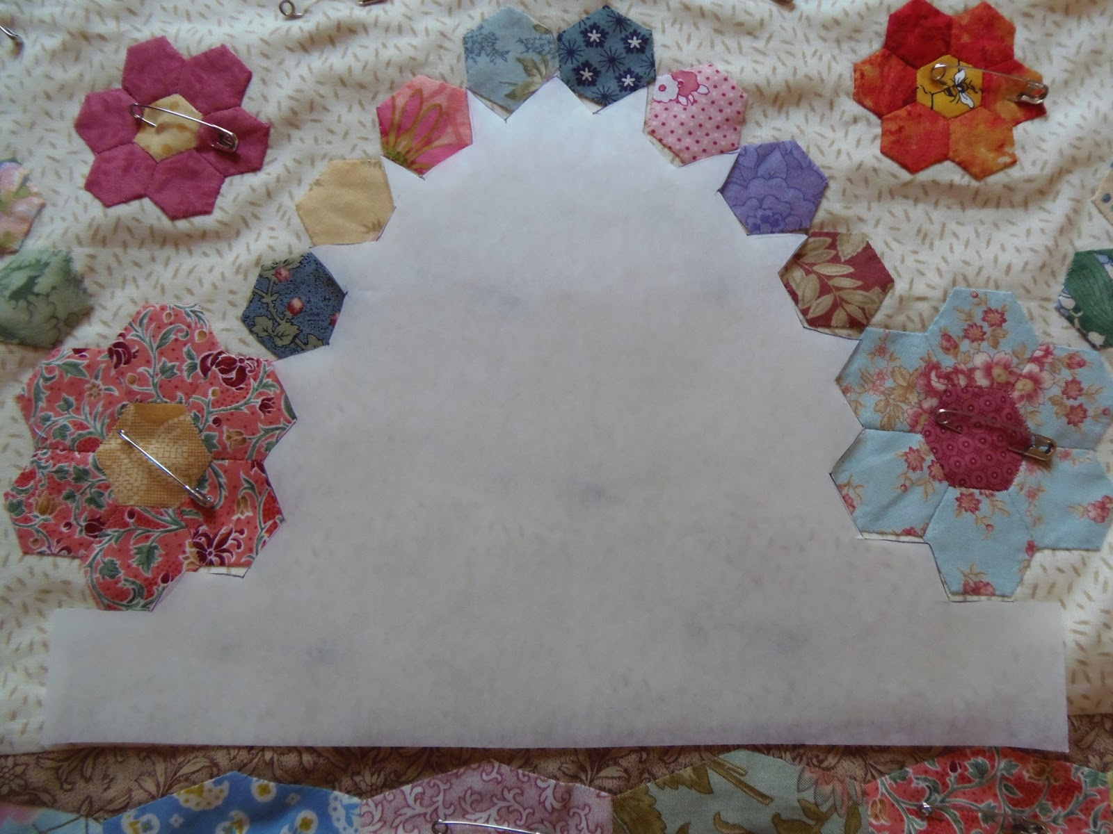 Faeries and Fibres: Anne H\'s Masai quilt is finished and making a ...