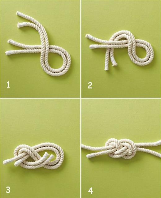 DIY nudo marinero
