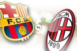 Barcelona vs Milan en vivo
