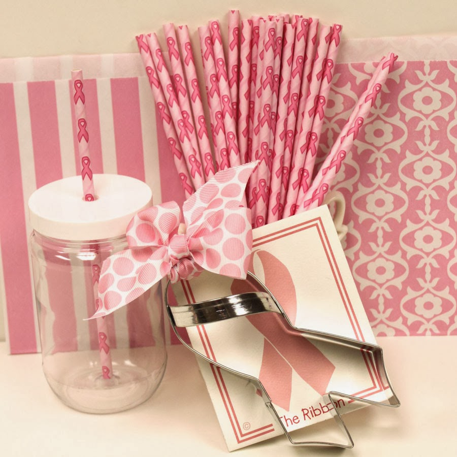 The Paper Straw Blog: Straws for a Cause, Pink Ribbon Breast Cancer ...
