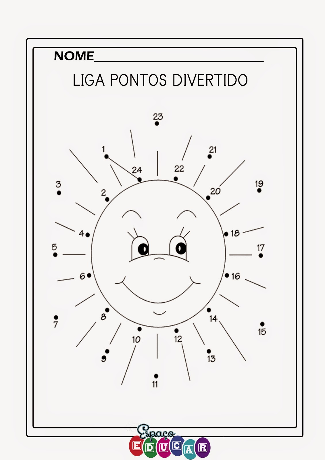Super ESPAÇO EDUCAR: ATIVIDADES DIVERTIDAS DE FÉRIAS PARA A GAROTADA  EA03
