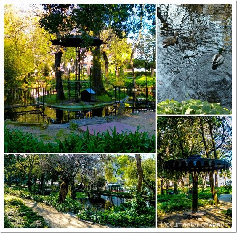 Jardim do Palácio Beau Séjour; Jardim Romântico; Quinta das Campainhas; Gabinete de Estudos Olisiponenses