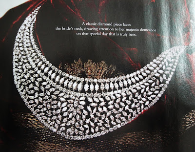 Bride Diamond Necklace Set models