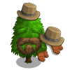 FarmVille Carriage Driver Tree