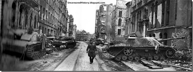 April 1945 city devastated