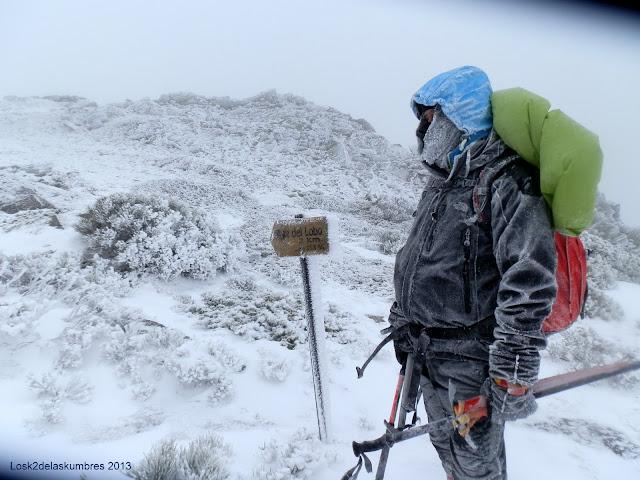 El Pico el Lobo vuelta a la Estacion de esqui de la Pinilla
