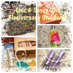 Chic &amp; Sassy Homemaker 2nd Blogiversary Giveaway!