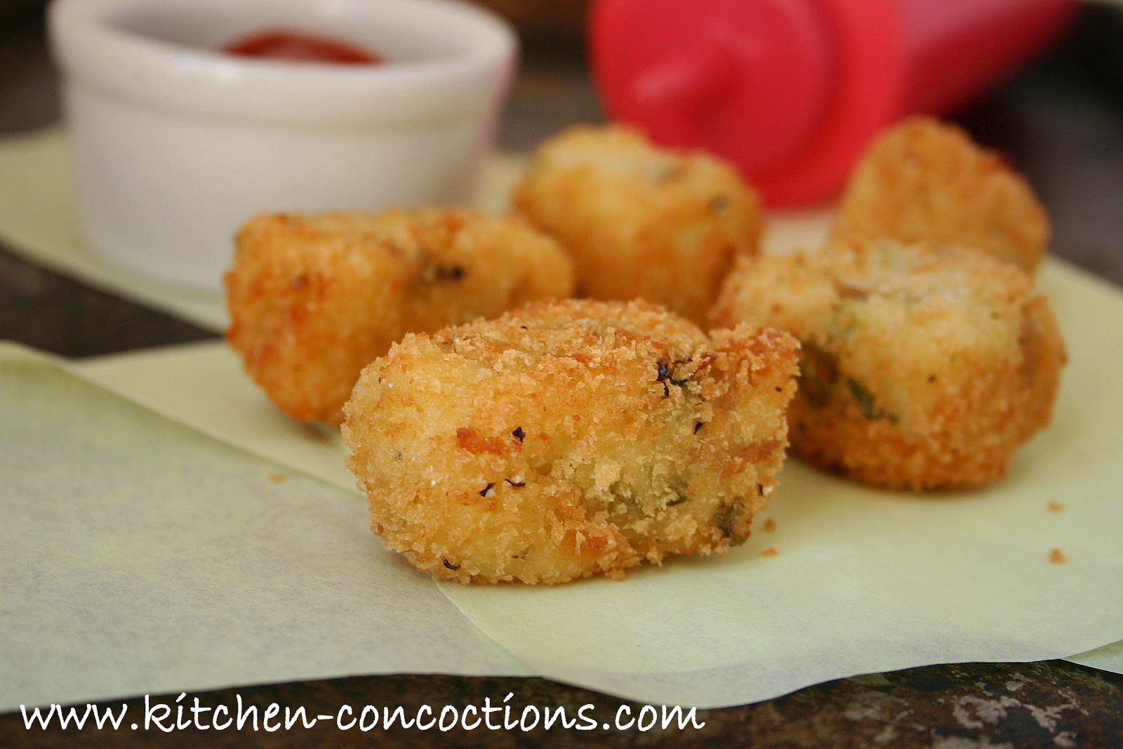 Homemade Tater Tots – Two Ways - Kitchen Concoctions