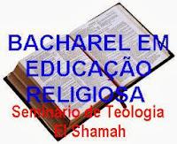 BACHAREL EM EDUCAÇÃO RELIGIOSA