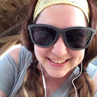 headband, crazy headbands, Jamie Allison Sanders, 1980s, 1990s, #tbt, Throwback Thursday, Martha's Vineyard, selfie, Alexander Wang Zipper Sunglasses