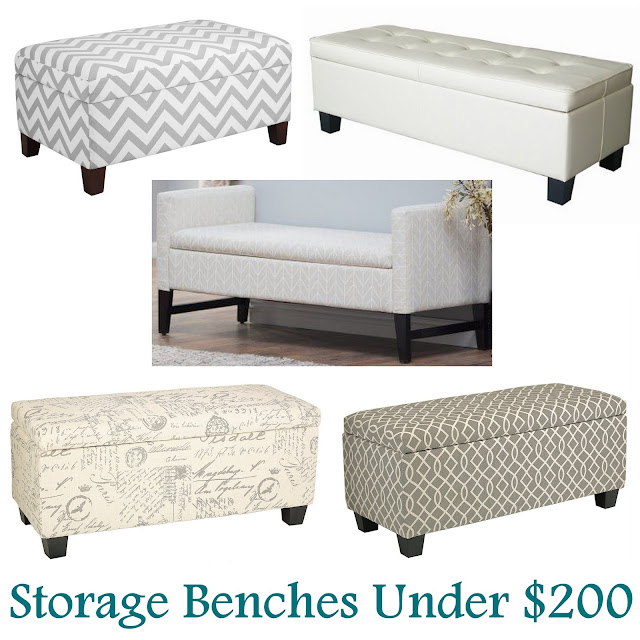 storage, storage bench, chevron storage bench, decorative bench bench, campaign night stand, night stand, x base night stand, gray, tan, white, seattle kwal, aloof gray, sherwin williams, living room, bed room, master bed room, home decorators collection, home, bedroom, gray tufted bench, the friday five
