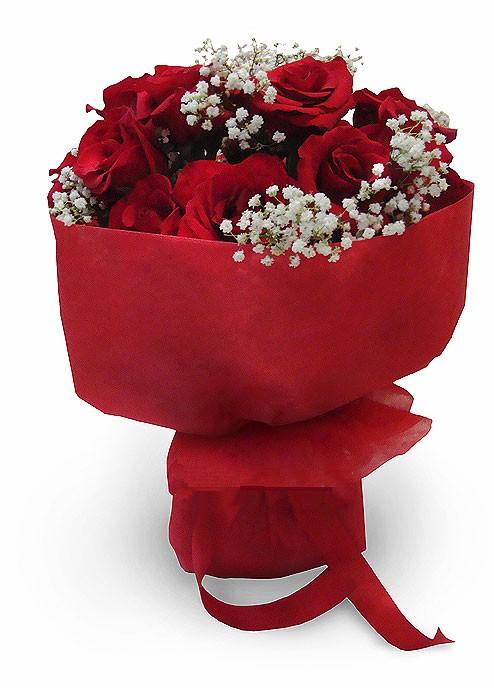 Image result for karangan bunga mawar merah