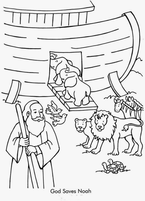 Free christian coloring pages noahs ark coloring pages for Noah ark coloring page