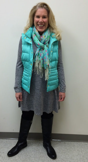 lilly pulitzer vest pop murfee scarf dress maryland lifestyle blogger