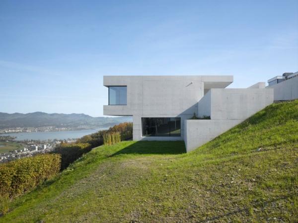 Casa moderna de dise o minimalista todo sobre fachadas for Casas rectangulares