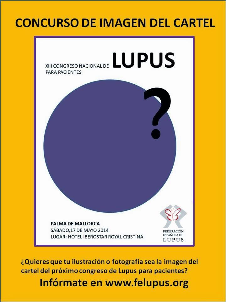 Cartel congreso nacional de lupus
