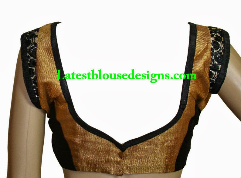 latest saree blouse designs 2014