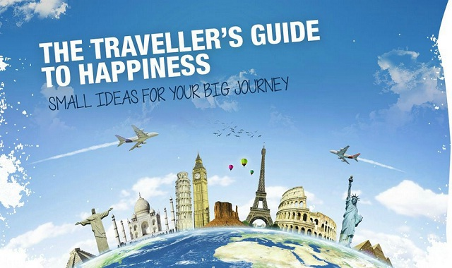 Image: The Traveller's Guide to Happiness #infographic