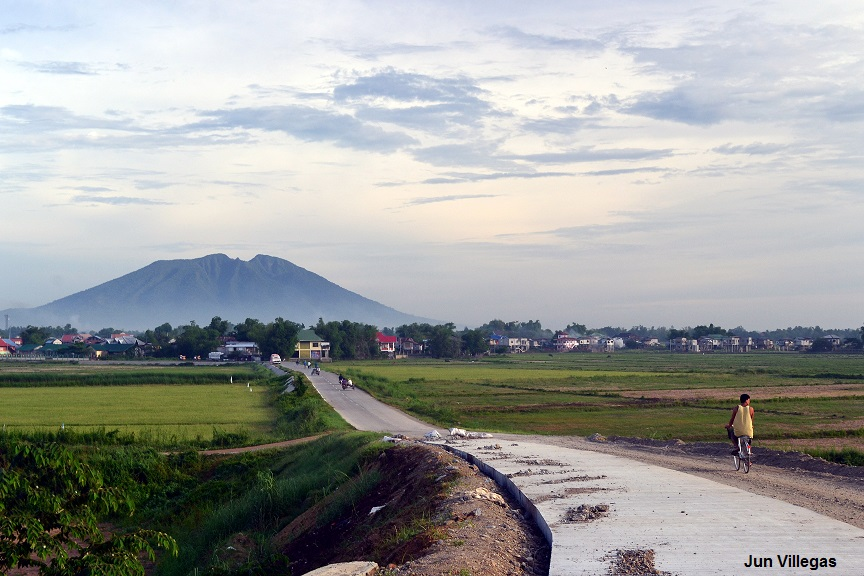 Candaba Philippines  city photos gallery : road from the town of Candaba to the bird sanctuary
