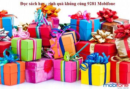 Đọc sách hay - rinh quà khủng cùng tổng đài 9281 Mobifone