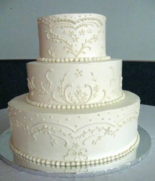My perfect wedding cake: August 2011
