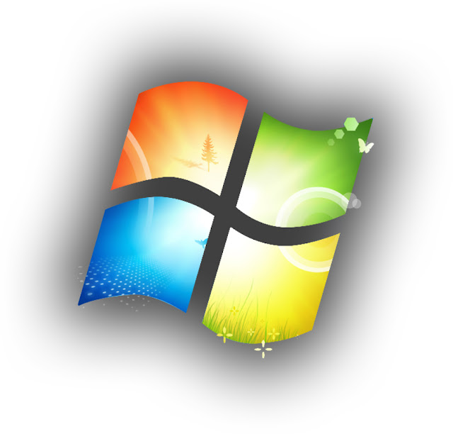 Windows 7 Colored Logo by yaxxe
