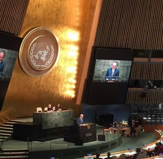 Rama asks Kosovo's recognition in UN