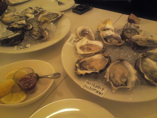 le trouvèreの生牡蠣!美味しい!