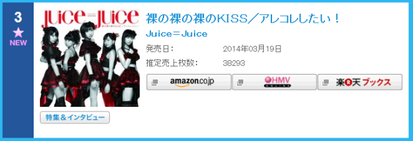 Juice=Juice (Conversacion General) Juicejuice-oricon