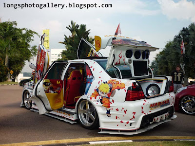Naruto Waja modified autoshow