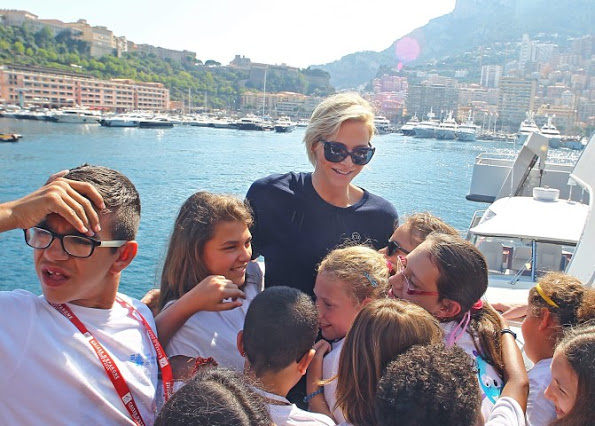 Princess Charlene Attended An Event In Monaco