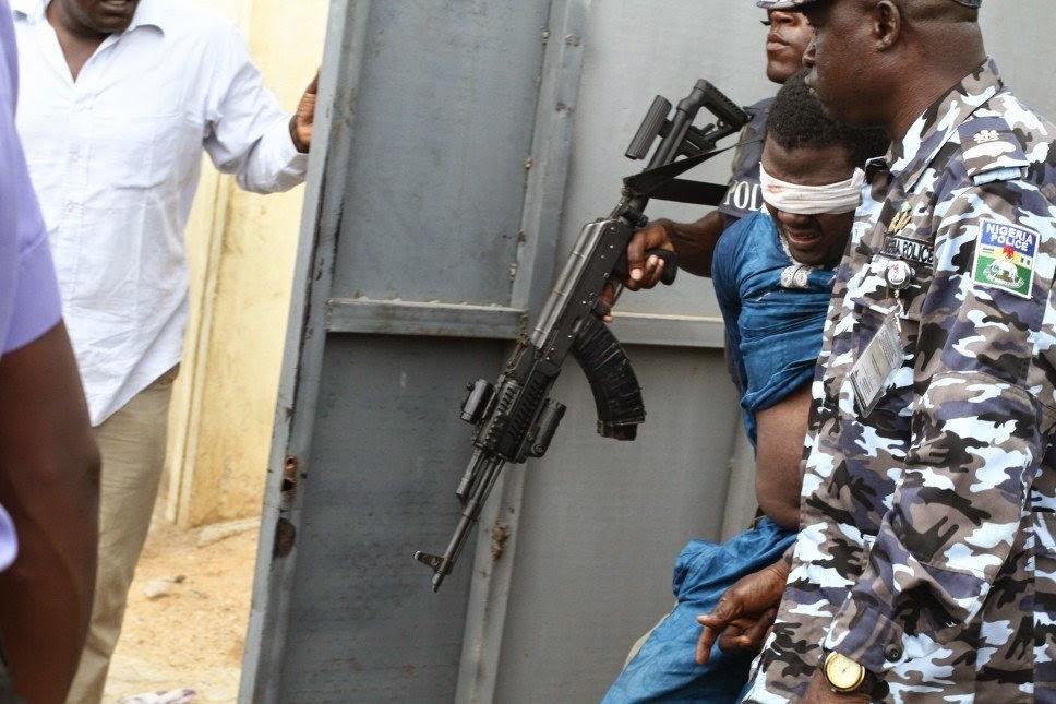 kano suicide bomber arrested