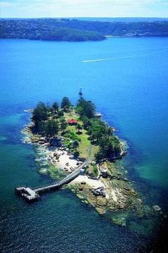 Shark Island (Port Jackson) Sydney Australia