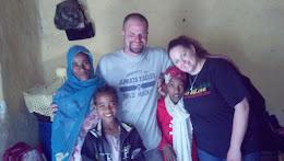 Our sponsor kids-Seada and Rehima