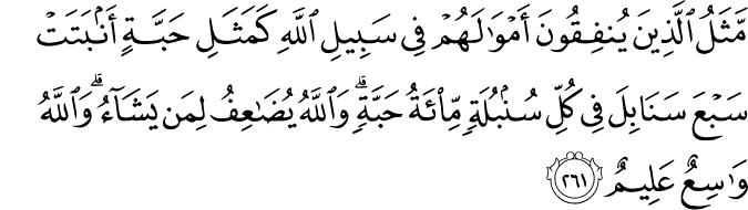 Surat Al-Baqarah Ayat 261