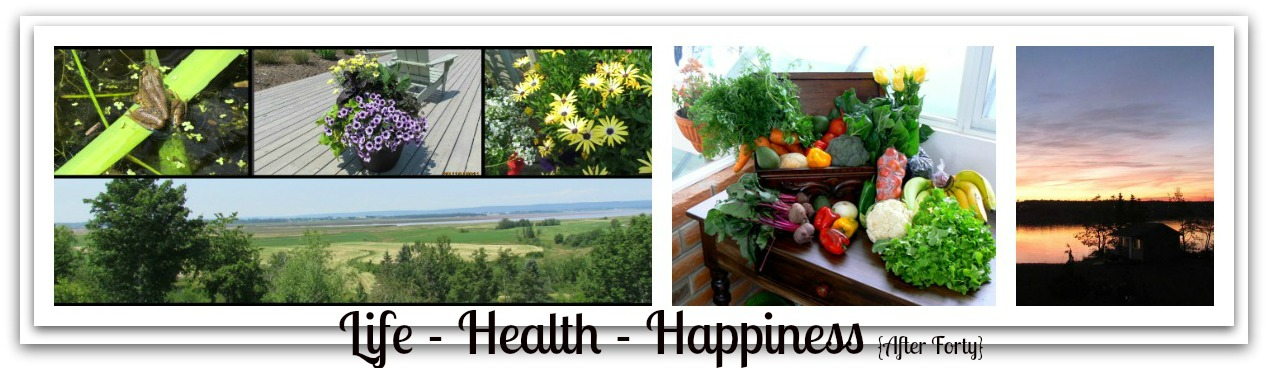 LIFE - HEALTH - HAPPINESS {AFTER FORTY}