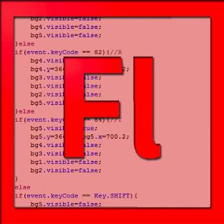 Script KeyCode di Actionscript 3.0 dengan menggunakan syntax Case