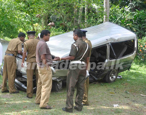 First Southern Highway Accident Which Two Persons Died photo