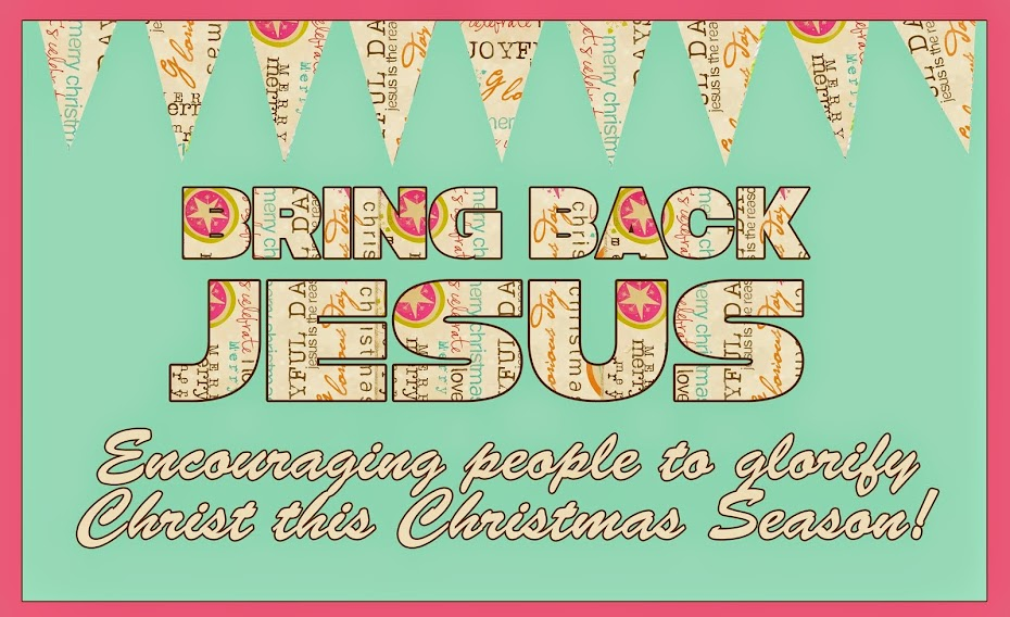 Bring Back Jesus!